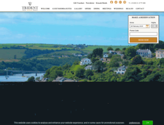 tridenthotel.com screenshot