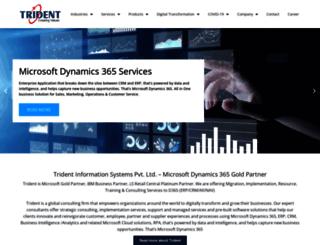 tridentinfo.com screenshot