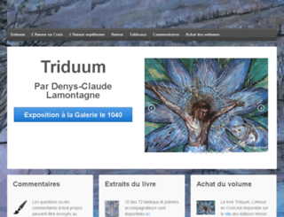 triduum.ca screenshot