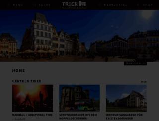 trier-info.de screenshot