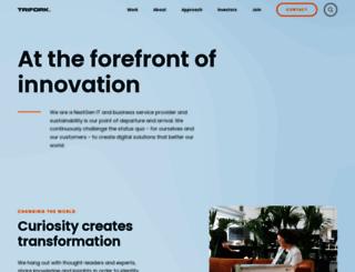trifork.com screenshot