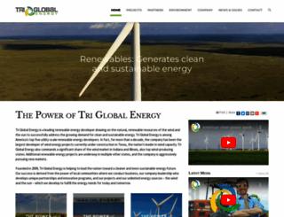 triglobalenergy.com screenshot