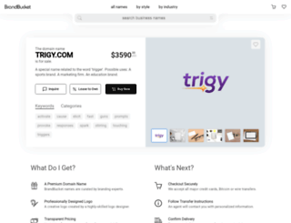 trigy.com screenshot