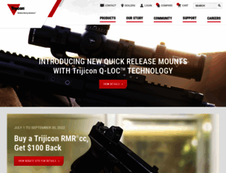 trijicon.com screenshot