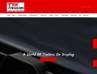 triktrailers.com.au screenshot