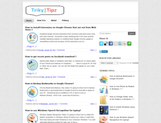 trikytipz.blogspot.com screenshot