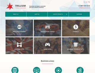 trillium.com.ua screenshot