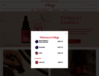 trilogyproducts.com screenshot