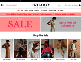 trilogystores.co.uk screenshot