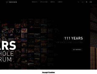 trilux.com screenshot