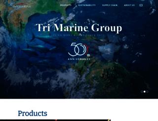 trimarinegroup.com screenshot