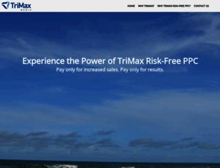 trimaxmedia.com screenshot
