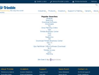 trimble.resultspage.com screenshot