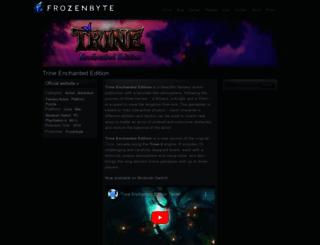 trine-thegame.com screenshot