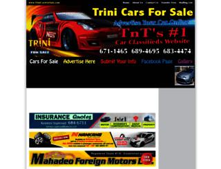 trinicarsforsale.com screenshot
