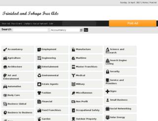 trinidad-tobago.qtellfreeads.com screenshot