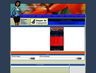 trinidadvacancies.com screenshot