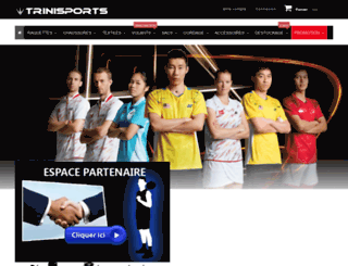 trinisports.fr screenshot