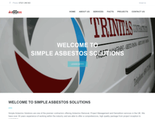 trinitascontracts.co.uk screenshot