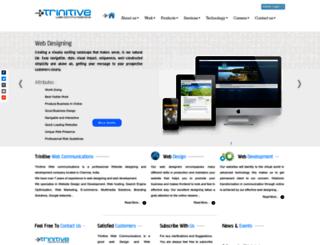 trinitive.com screenshot
