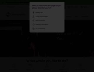 trinity-health.org screenshot
