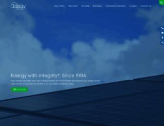trinity-solar.com screenshot