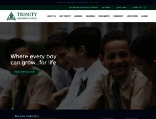 trinity.nsw.edu.au screenshot