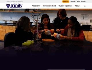 trinitydc.edu screenshot