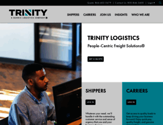 trinitylogistics.com screenshot
