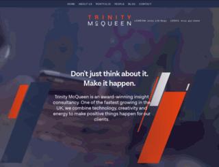 trinitymcqueen.com screenshot