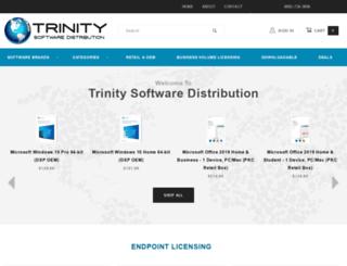 trinitysoftwaredistribution.com screenshot