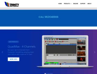 trinitysoftwares.com screenshot