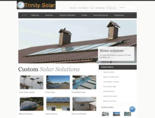 trinitysolar.com screenshot