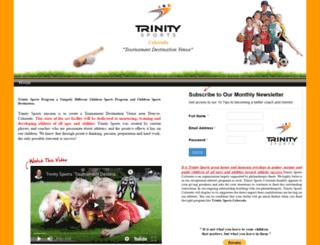 trinitysports.webstarts.com screenshot
