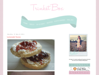 trinket-box.blogspot.com screenshot