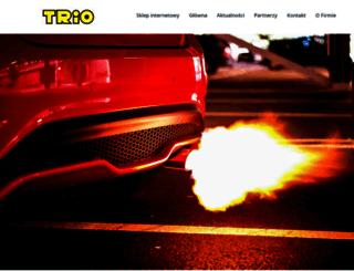 trio.com.pl screenshot