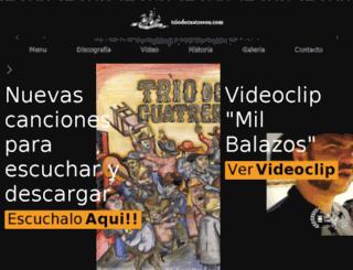 triodecuatreros.com screenshot