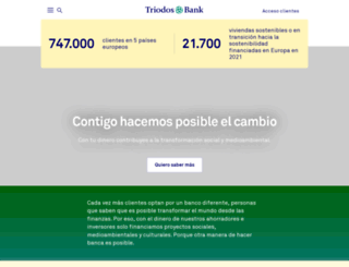 triodos.es screenshot