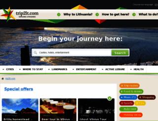 trip2lt.com screenshot