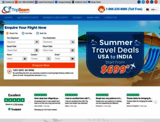 tripbeam.com screenshot