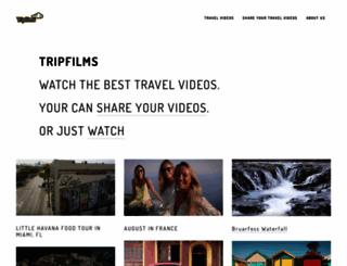tripfilms.com screenshot