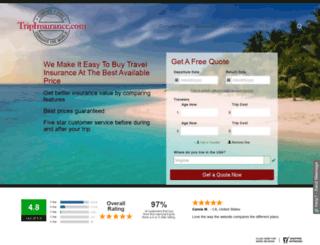 tripinsurance.com screenshot