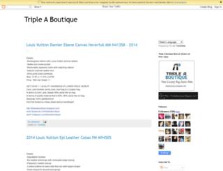 tripleaboutique.blogspot.com screenshot