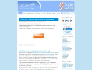 triplelootz.wordpress.com screenshot