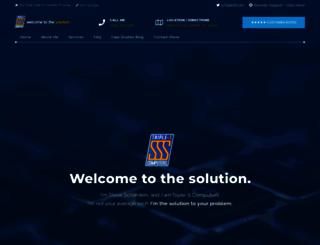 triplescomputers.com screenshot