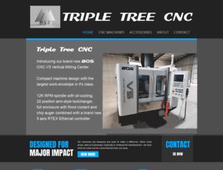 tripletreecnc.com screenshot