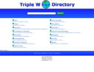 triplewdirectory.com screenshot