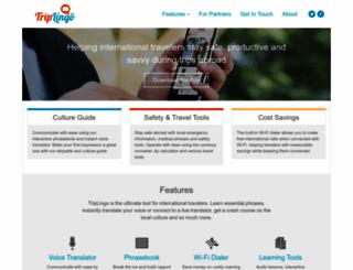 triplingo.com screenshot