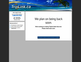 triplink.ca screenshot