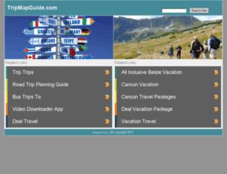 tripmapguide.com screenshot